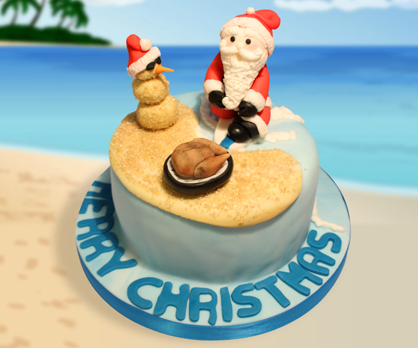 Aussie Christmas on the Beach!