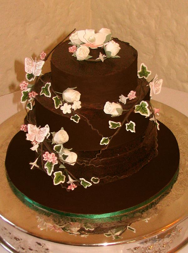 Wedding Cake Chocolate Heaven