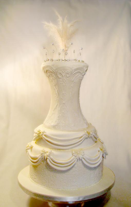 Wedding Cake Ivory and Lace