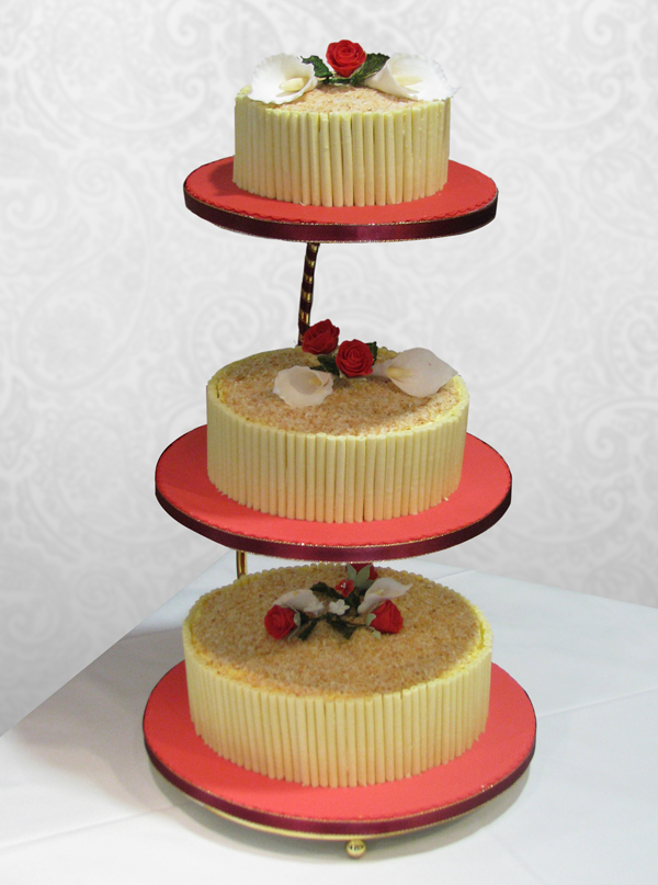 Wedding Cake White Chocolate and Coconut