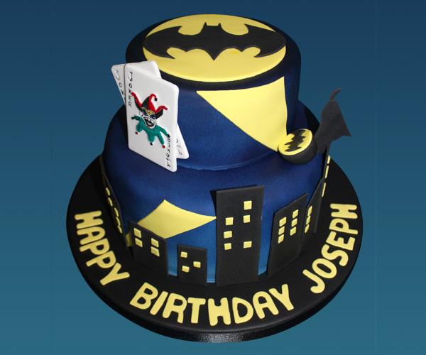 Batman and The Joker Cake