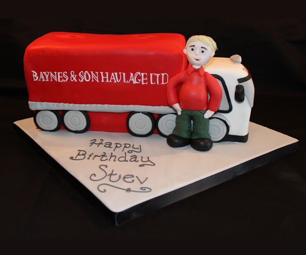 Baynes & Sons Lorry Cake