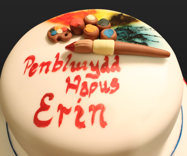 Creative Paints Cake