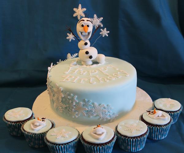 Olaf & Cupcakes