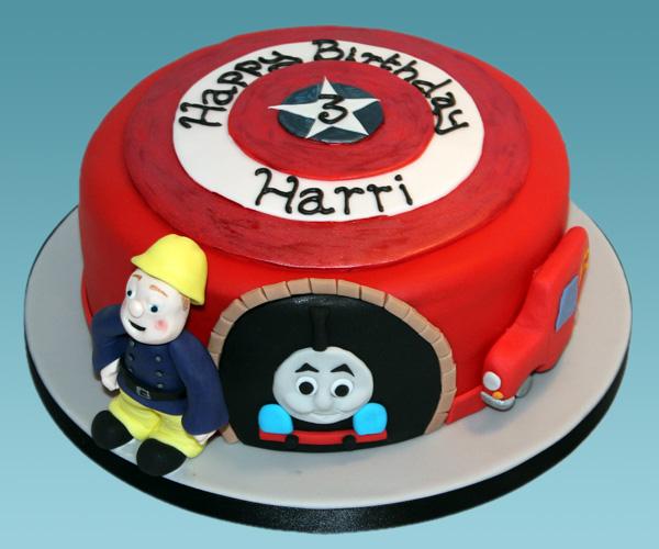 Harri's Heroes Cake