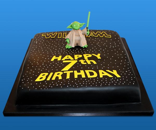 Starwars Yoda Cake