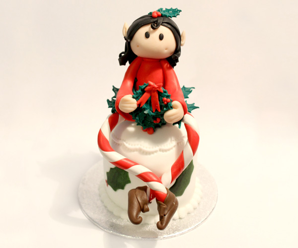 'Holly' Christmas Elf Topper