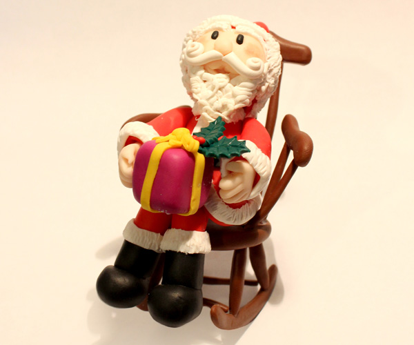Santa Claus Topper