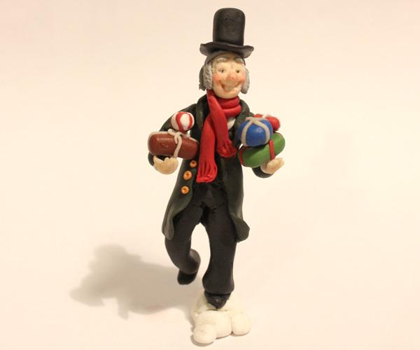 Ebenezer Scrooge Topper