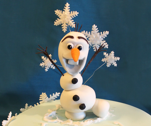 Frozen's Olaf Birthday Topper