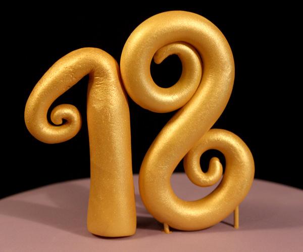 18th Birthday Topper