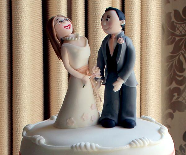 Character Bride & Groom