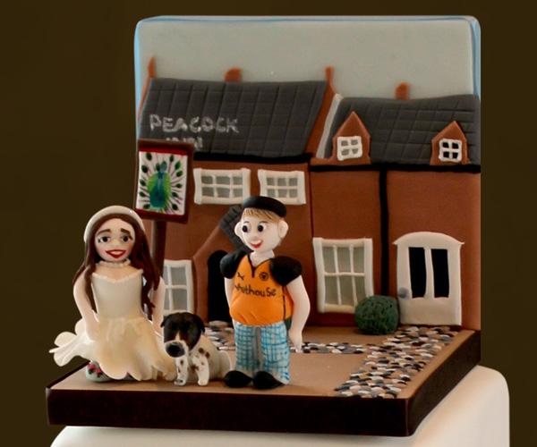 Bride & Groom at Favourite Pub!