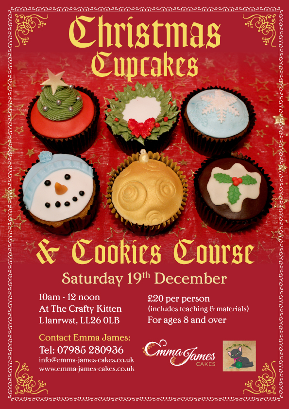 Christmas Cupcake And Cookie Workshop Emma James Cakes