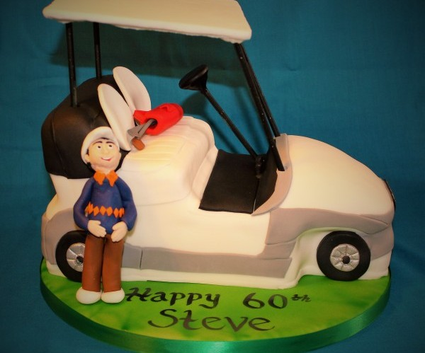Golf Buggie Cake