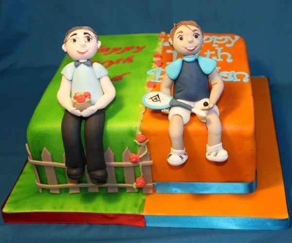 Grandson & Grandad Cake