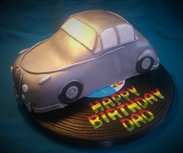 Motown Jaguar Cake