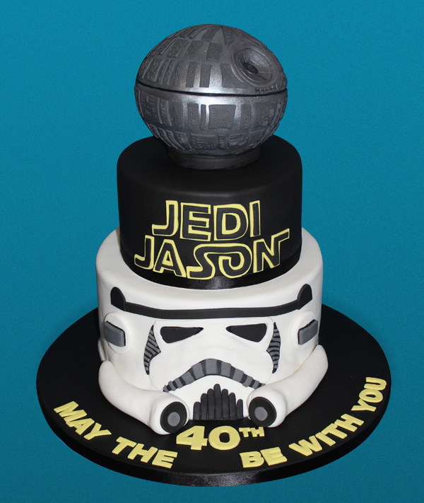 May the 40th Star Wars Cake