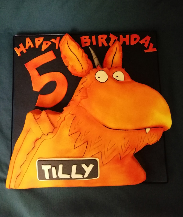 5th Birthday Tilly Cake