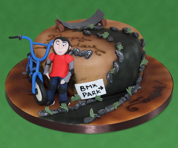 BMX Bike Park Cake