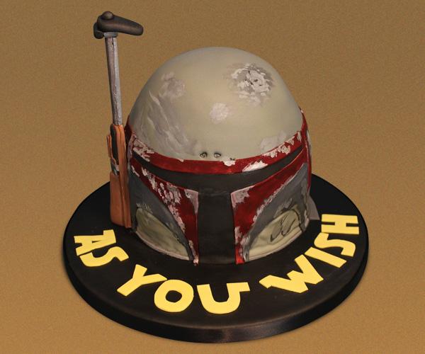 Boba Fett Birthday Cake