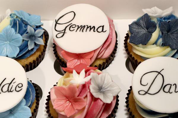 Family Flower Cupcakes!