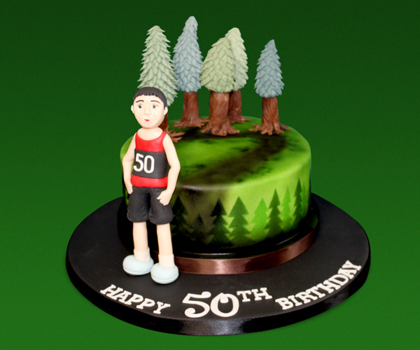50th Gwydir Runner Cake