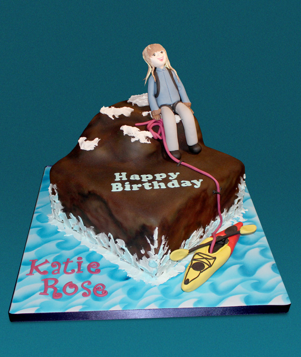 Kayaking & Climbing Cake