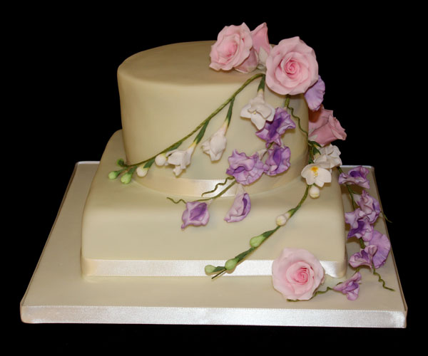 Remembrance Flowers Cake
