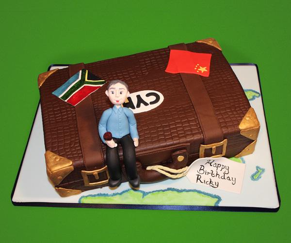 Travelling Dad Cake