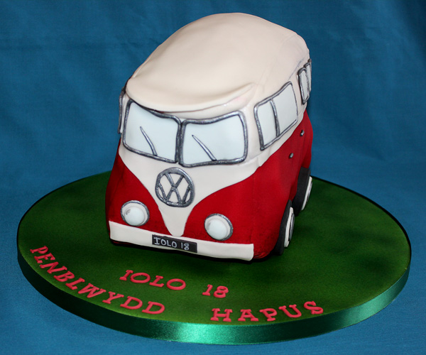18th Birthday VW Campervan Cake