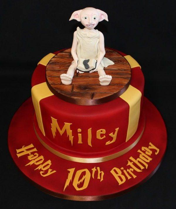 Harry Potter Dobby 10th Cake